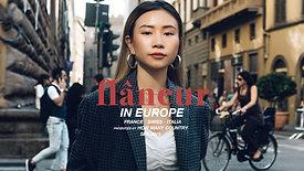 FLÂNEUR IN EUROPE