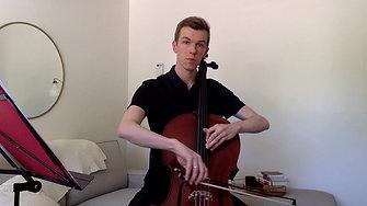 SC Region Orchestra - 11/12 cello scales
