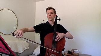 SC Region Orchestra - 9/10 cello excerpt 2