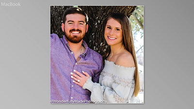 Caitlin & Matthew Engagement video