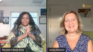Livestream with Reverend Betty King and Jenny Watson