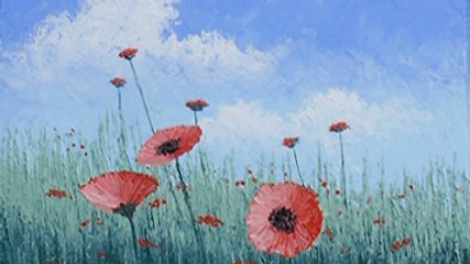 """Pay to View """"Poppy Field"""""""