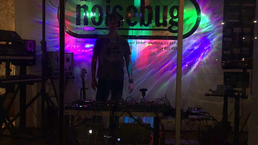 Noisebug at the Second Saturday Art Walk