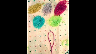 Easy Macrame Feathers