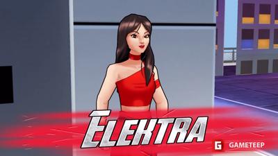 Marvel Avengers Academy: Elektra
