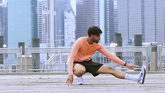 Pre-Run Stretch Routine