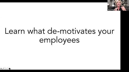 Ways to Motivate Webinar