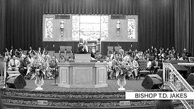 Bishop TD Jakes at Pilgrim Church