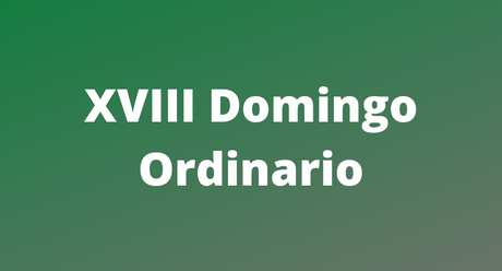 XVIII Domingo Ordinario - St Francis of Assisi