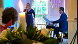 Simply beautiful and incredibly captivating 👌🎶  The signature song from the musical Wicked, 'Defying Grafity' performed at our recent dinner event by the talented Louise Dearman and accompanied by the superb Musical Director, Michael Morwood!   The W