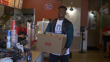 NFL Player Chanceller James 43 Acts of Kindness