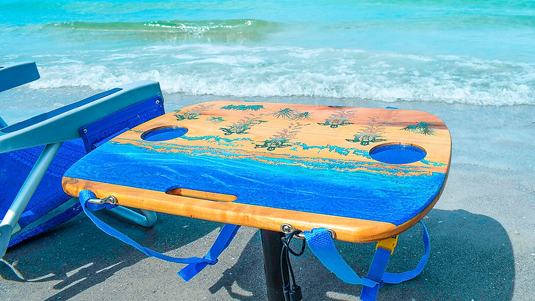 Setting up Your Beach Table