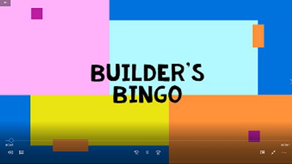 Builder's Bingo