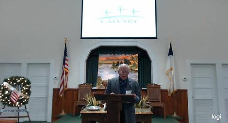 Bill Scott's Sunday School Jan 3