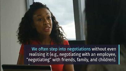 MG: Negotiation skills
