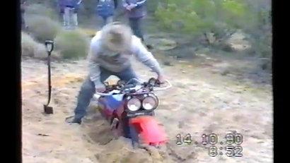The Buried Bike Prank