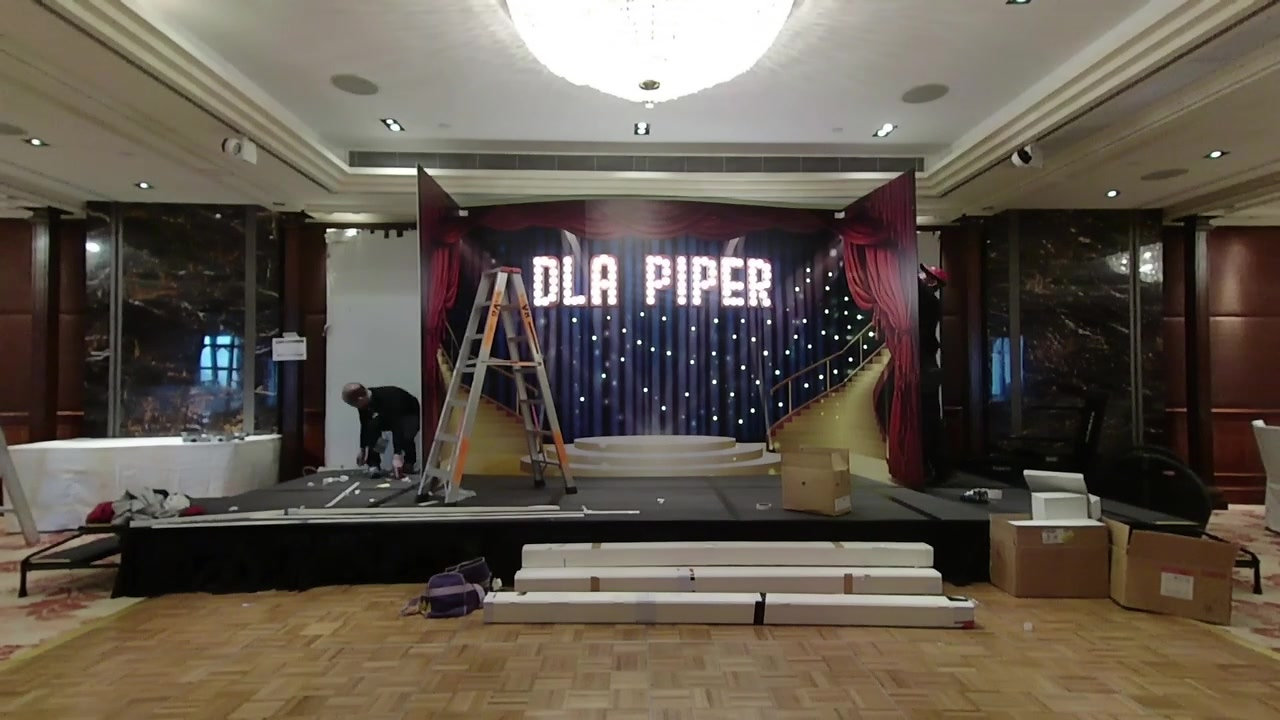 DLA PIPER Annual Dinner Backdrop