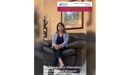 Invitación Dra. Susana Zarco Villavicencio