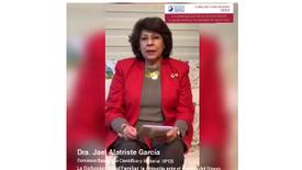 Invitación de Dra. Jael Alatriste