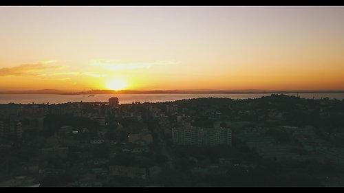 Pôr do sol, Rio Guaíba (00:34)