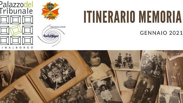 ITINERARIO MEORIA 2021