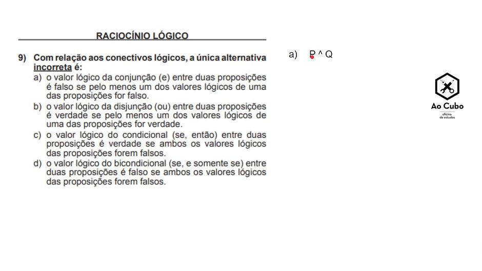 Módulo 1 - conceito de proposição