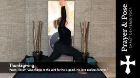 Week 1 Prayer & Pose (Core Focused Yoga with Prayer Prompts)