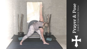 Week 2 Prayer & Pose (Hip Focused Yoga Session with Prayer Prompts)
