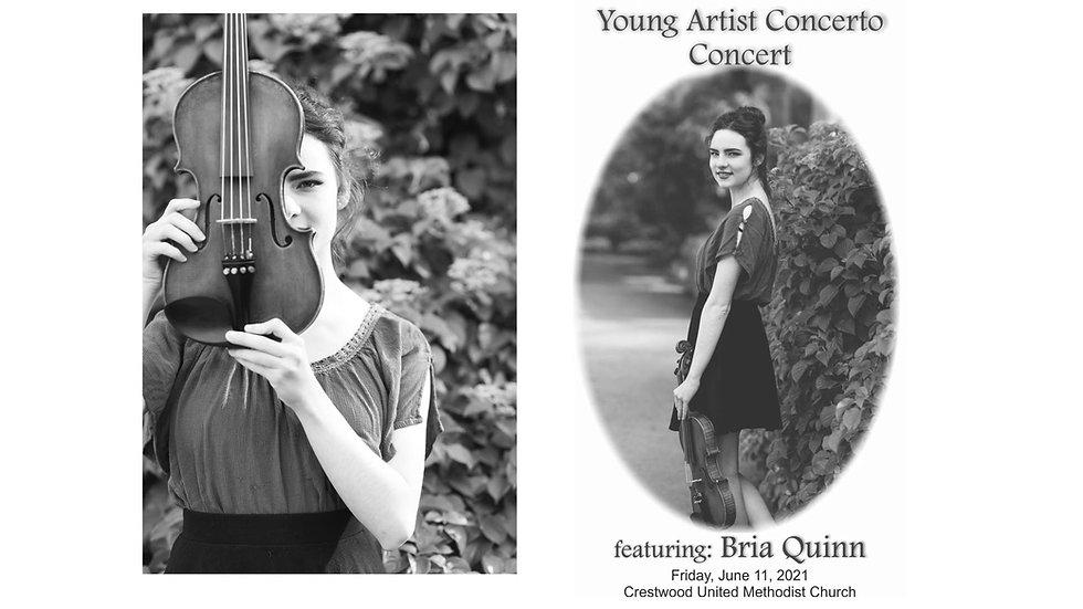 Young Artist Concerto Concert-Bria Quinn