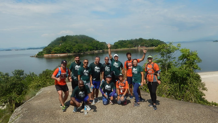 Correndo na Ilha de Paquetá