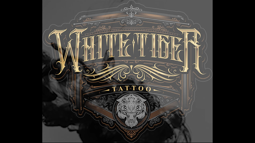 White Tiger Logo Reveal