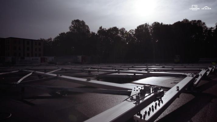 Montaje de Bodega Modular en solo 2 semanas | Losberger De Boer