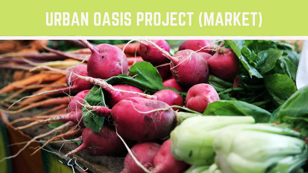 Urban Oasis Project | Miami Fl | Farmers Market