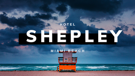 Shepley Hotel | Miami Beach Fl