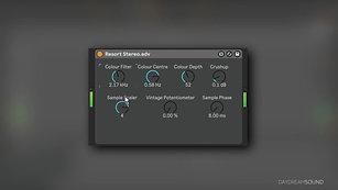 The Daydream Sound Resort Audio Plugin Update 1.1