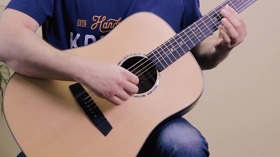 Opened-tuned Fingerstyle Guitar with Eric Morrison