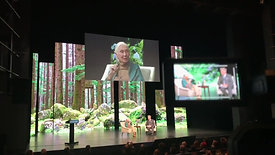 Filming Jane Goodall for CCSF's EATV   Global Action Climate Summit   San Francisco 2018