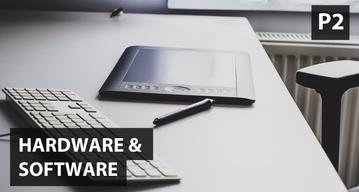 Boceto digital P2: Hardware & Software