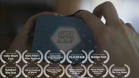 Nap Time Shorts: Super Mom