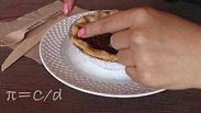 Pi day with a pie!