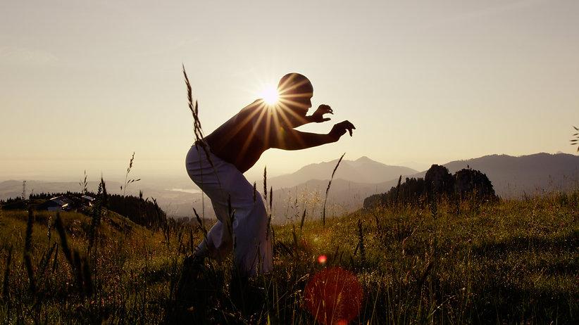 Capoeira Light Studies
