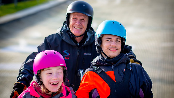 Disability Snowsport UK: Colin and Emily's Story