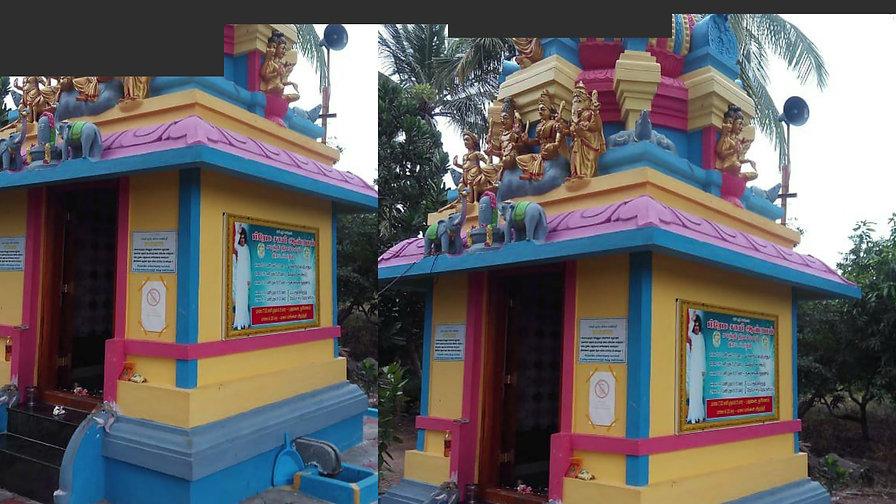 Temples inside our Ashram