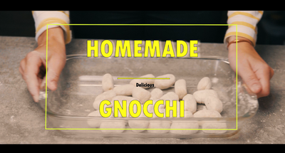 HOMEMADE Gnocchi B-Roll