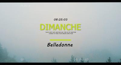 L'Ascension de Belledonne.