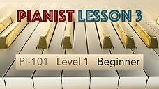 PI-101, Lesson 3, Scales