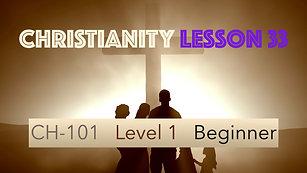 CH-101, Lesson 33, Divine Flow