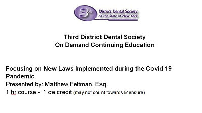 Select Employment Law for the Dental Practice