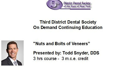 The Nuts and Bolts of Veneers