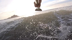 Xmas SUP surf